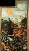 Grunewald, Matthias The Temptation of St Antony oil painting reproduction