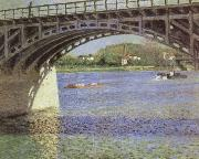 The Bridge at Argenteuil and the Seine, Gustave Caillebotte