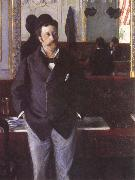 In a Cafe, Gustave Caillebotte
