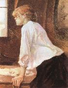 Henri  Toulouse-Lautrec The Laundress oil painting on canvas
