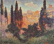 Cypresses at Cagnes
