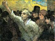 The Uprising, Honore  Daumier