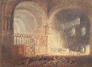 Transept of Ewenny Priory, J.M.W. Turner
