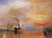 The Fighting Temeraire tugged to her last Berth to be broken up 1838, J.M.W. Turner