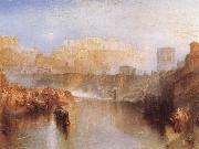 Agrippina landing with the Ashes of Germanicus, J.M.W. Turner
