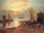 Sun Rising through Vapour, J.M.W. Turner