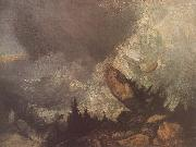 The Fall of an Avalanche in the Grison, J.M.W. Turner