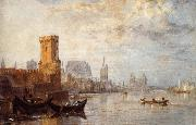 View of Cologne on the Rhine, J.M.W. Turner