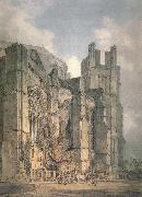 St. Anselm-s Chapel with part of Thomas-a-Becket-s Crown,Canterbury, J.M.W. Turner