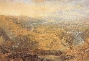 Crook of Lune,Looking Towards Hornby Castle, J.M.W. Turner