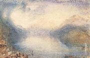 The Bay of Uri from above Brunnen, J.M.W. Turner