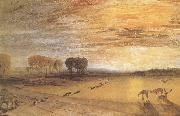 Petworth Park,with Lord Egremont and his dogs, J.M.W. Turner