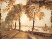 Morlake Terrace the seat of william moffatt esq summer-s Evening, J.M.W. Turner