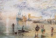 Flint Castle,North Wales, J.M.W. Turner
