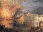 The Burning of the Houses of Parliament, J.M.W. Turner