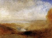 Joseph Mallord William Turner Landscape with a River and a Bay in the Background oil painting reproduction