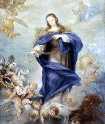 Juan Antonio Escalante Immaculate Conception oil painting reproduction