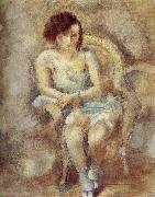 Jules Pascin Younger Gril oil painting reproduction