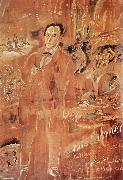 Jules Pascin Andora and Memater oil painting