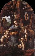 Madonna in the cave, LEONARDO da Vinci