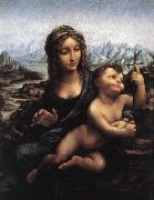 Madonna with the Yarnwinder after 1510, LEONARDO da Vinci