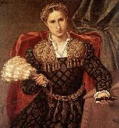 Portrait of Laura da Pola, Lorenzo Lotto