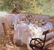 Palmer, Pauline Breakfast oil painting reproduction