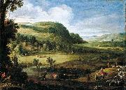 Paul Bril An Extensive Landscape oil painting