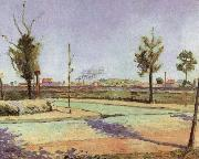 The Road to Gennevilliers, Paul Signac