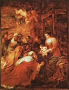 Peter Paul Rubens The Adoration of the kings oil painting on canvas