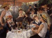 Pierre Renoir The Luncheon of the Boating Party oil painting reproduction