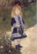 Girl with trida, Pierre-Auguste Renoir