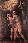 The Expulsion from Earthly Paradise, Pontormo, Jacopo