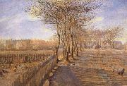 Theodor Esbern Philipsen A Lane at Kastrup oil painting