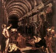 The Discovery of St Mark-s Body, Tintoretto