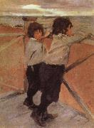 The Children, Valentin Serov