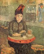 Agostina Segatori in the Cafe du Tambourin, Vincent Van Gogh