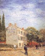 Restaurant rispal at Asnieres, Vincent Van Gogh
