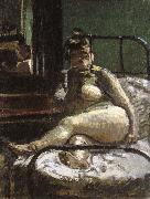 Walter Sickert La Hollandais oil painting