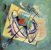 Wassily Kandinsky Voros ovalis oil painting reproduction