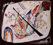 Wassily Kandinsky Feher ovalis oil painting on canvas