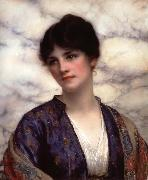 William Clarke Wontner Valeria oil painting