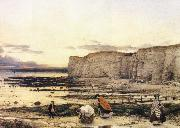 William Dyce Pegwell Bay oil painting