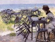 William Merrit Chase End of the Season oil painting