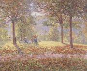 Wynford Dewhurst Luncheon on the Grass oil painting reproduction