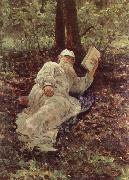 Tolstoy Resting in the Wood