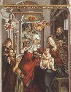 unknow artist Saint Anne with the Virgin and the Child oil painting on canvas