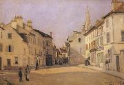 Alfred Sisley Square in Argenteuil oil painting artist