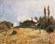 Alfred Sisley Station at Sevres oil painting