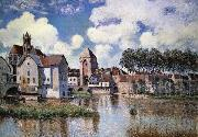Alfred Sisley Moret-sur-Loing oil painting